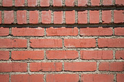 Brick Prints - Cemented Print by Dan Holm