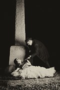 Killer Posters - Cemetary Romance Poster by Darcy Evans