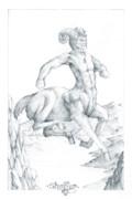 Centaur 1 Print by Curtiss Shaffer