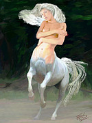 Daydream Digital Art - Centaur by James Shepherd