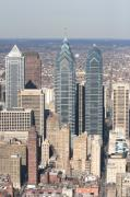 Philly Skyline Art - Center City Philadelphia Portrait by Duncan Pearson