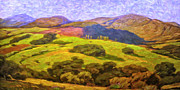 Grande Painting Framed Prints - Central Coast Wine Country Framed Print by Dominic Piperata