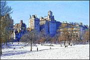 Central Park Print by Chuck Staley