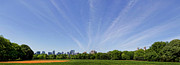 Panoramas - Central Park South from Great Lawn by Robert Ullmann