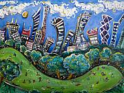 New Jersey Art - Central Park South by Jason Gluskin