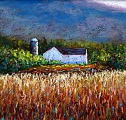 Pennsylvania Pastels - Central Pennsylvania Farm in Summer by Bob Richey