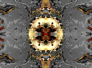 Digital Abstract Digital Art - Central planning by Claude McCoy