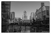 Advertising Framed Prints - Central World square at Bangkok Thailand Framed Print by Setsiri Silapasuwanchai