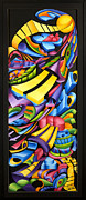 Color Reliefs Framed Prints - Centripicle Framed Print by Jason Amatangelo