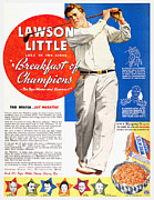Lawson Prints - Cereal Advertisement, 1937 Print by Granger