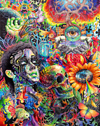 Trippy Art - Cerebral Dysfunction by Callie Fink