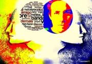Cerebral Hemispheres Print by Paulo Zerbato
