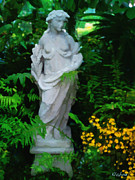 Garden Statue Of Goddess Prints - Ceres Print by David Klaboe