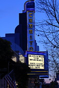 Albany Posters - Cerrito Theater in El Cerrito California . 7D11034 Poster by Wingsdomain Art and Photography