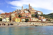 Holiday Destination Prints - Cervo - Liguria Print by Joana Kruse