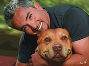 Bonding Originals - Cesar Millan Daddy Memorial by Lance  Kelly