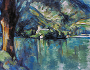Impressionism Photos - Cezanne: Annecy Lake, 1896 by Granger