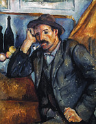 Smoker Photos - Cezanne: Pipe Smoker, 1900 by Granger