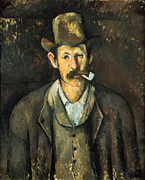 Impressionism Photos - CEZANNE: PIPE SMOKER, c1892 by Granger