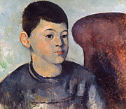 Impressionism Photos - Cezanne: Portrait Of Son by Granger