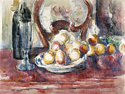 Impressionism Photos - Cezanne: Still Life by Granger