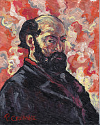 Self-portrait Prints - Cezanne Print by Tom Roderick