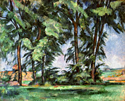 Impressionism Photos - CEZANNE: TREES, c1885-87 by Granger