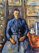 Impressionism Photos - Cezanne: Woman, 1890-95 by Granger