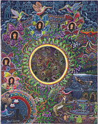 Visionary Art Painting Prints - Chacruna Versucum Print by Pablo Amaringo