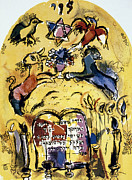 Jerusalem Photos - Chagall: Levi by Granger