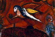 Judaism Prints - Chagall: Song Print by Granger