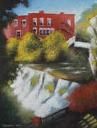 Architecture Pastels - Chagrin Falls by Don Gardi