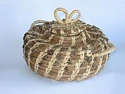 Basket Sculptures - Chai Pot by Joey Goss