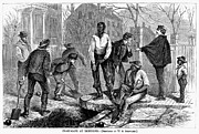 Chain Gang Framed Prints - Chain Gang, 1868 Framed Print by Granger