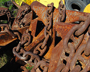 Steve Sperry Metal Prints - Chains and Anchors Metal Print by Steve Sperry