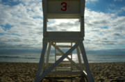 Marconi Beach Framed Prints - Chair 3 Framed Print by C Lambson