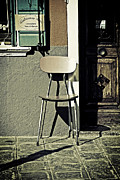 Burano Prints - Chair Print by Joana Kruse
