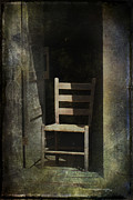 Old Chair Posters - Chair Poster by Sari Sauls