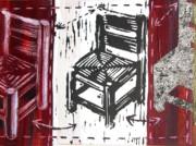 Chair V Print by Peter Allan