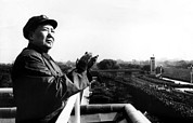 Clapping Metal Prints - Chairman Mao Tse Tung, Aka Mao Zedong Metal Print by Everett