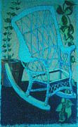 Chair Drawings - Chaise de Mere by David Martin