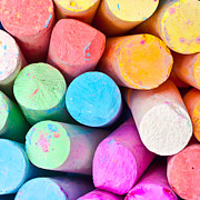 Chalky Prints - Chalks Print by Tom Gowanlock