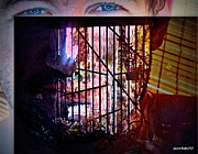 Hidden Desires Digital Art - Challenge Enigmatic Imprison Himself by Paulo Zerbato