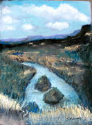 Chama River Prints - Chama Islands Print by John De Young