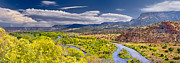 Abiquiu Posters - Chama River Overlook Poster by Photo by Dean Fikar