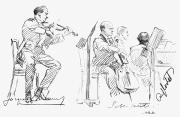 Trio Photos - CHAMBER MUSICIANS, c1935 by Granger