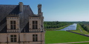 Chateaus Framed Prints - Chambord Chateau France Framed Print by Trent Saviers