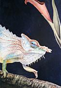 Chameleon Print by Irina Sztukowski