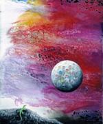 Chameleon Moon Print by Lee Pantas