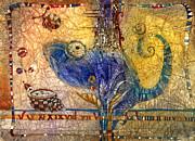 Chameleon Print by Svetlana and Sabir Gadghievs